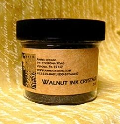 Walnut ink crystals - 4 oz
