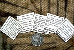 Penny Scale Fortune Tickets (1930's-1940's)