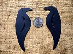 Black Tin Crow Embellishment 2 Pack