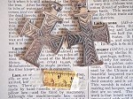 Antique Silver Metal Coptic Christian Cross
