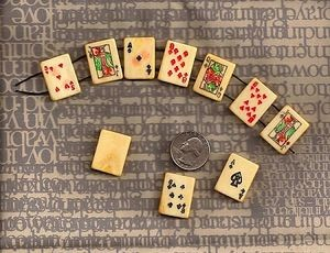 poker tile bead bracelet