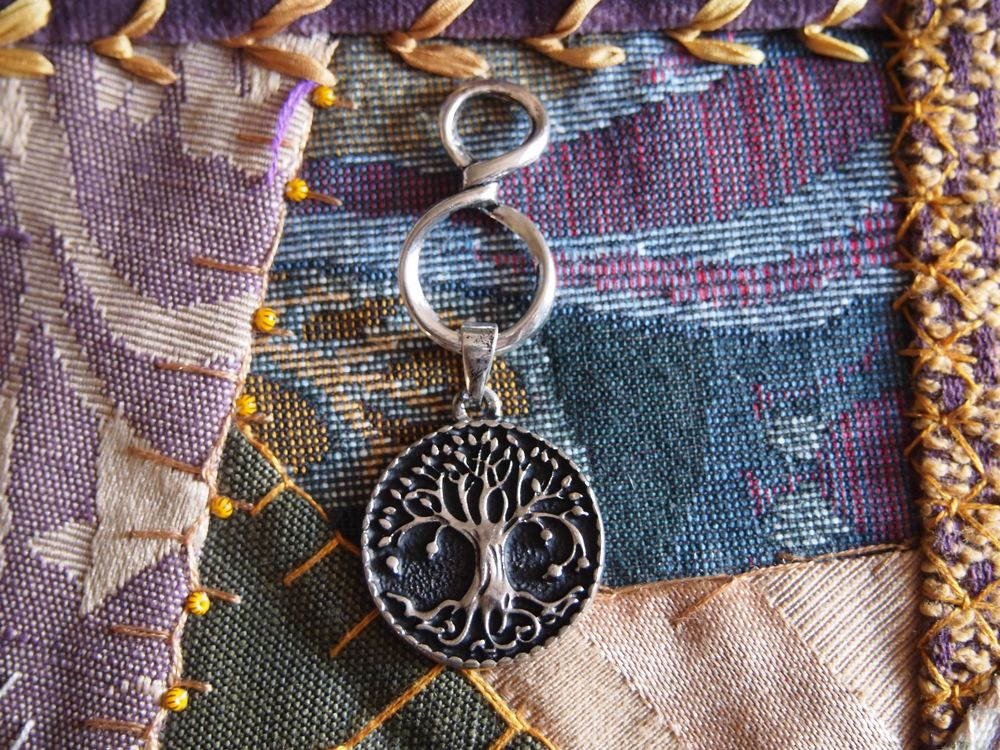 infinity tree of life necklace