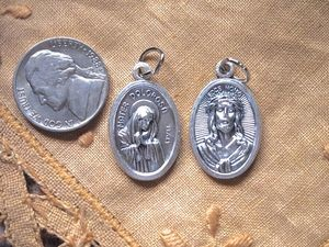 Mater Dolorosa Sorrowful Mother Medal