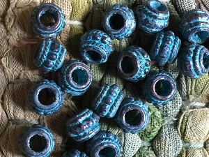20 Pcs. Casting Beads Rondelle Beads Cadmium, Lead & Nickel Free Verdigris Patina Beads 8x6mm with 3.5mm Hole 20 Pieces