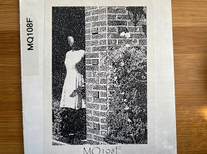 MQ108F Dressed Mannequin Rubber Stamp