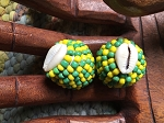 Orunla Macuto Santeria Amulet Yellow And Green