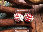 Chango Macuto Santeria Amulet Red and White