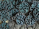 WHOLESALE 25 Pcs Tree of Life Antique Bronze Verdigris Patina Charms Cadmium, Lead & Nickel Free 15x18mm