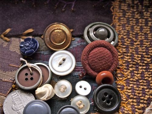 Mixed Vintage Buttons