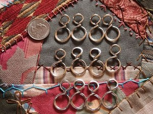 12 Infinity Figure 8 Antique Silver Link Findings