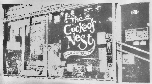 SO105D Cuckoo's Nest Rubber Stamp